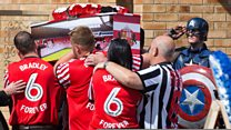 Hundreds say goodbye to Bradley Lowery