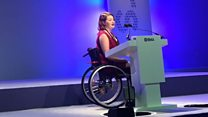 Dr Hannah: 'I often get to emergencies first because of my speedy wheelchair'