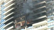 Fatal blaze in Honolulu high-rise flats