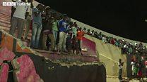 Senegal'de futbol maçında kavga