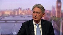 Hammond criticises McDonnell over Grenfell