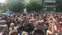 Poles rally against judicial reform