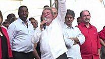 Luiz Inacio Lula da Silva yakatiwe gufungwa imyaka 9 n'igice.