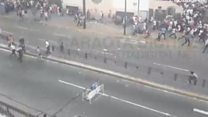 Gunshot heard during Venezuela voting