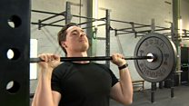 Personal trainer's lift by Finance Wales