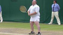 Wicklow man gets served at Wimbledon