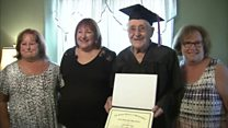 97-year-old veteran graduates high school