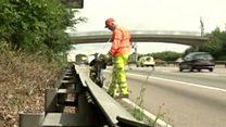 Meet the team keeping a motorway clean