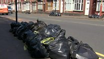 The whiff of a summer bin strike