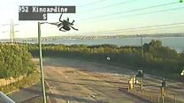 A giant spider has invaded Fife