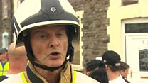 Man trapped under church collapse rubble