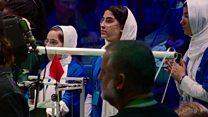 تیم دختران افغانستان محور توجه در مسابقات روباتیک واشنگتن