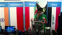 Iranian students' sanctions-busting robot