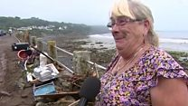 'Floods carried off my kitchen sink'