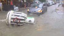 Вулиці Стамбула затопило після дощової зливи