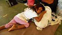 Cómo viven los venezolanos que llegan a Boa Vista en Brasil escapando de la crisis a Boa Vista en Brasil