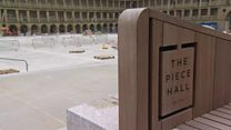 Final preparations underway at Halifax's Piece Hall before grand reopening