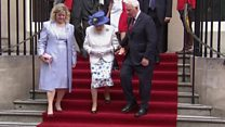 Canada official in protocol breach with Queen