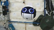 3D-printed drone sends back pictures of ISS
