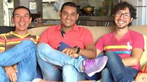 Meet the three men who 'married' each other