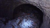 New cave found below city's streets