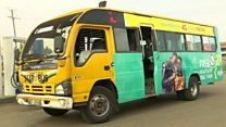 Kenya's colourful bus journeys