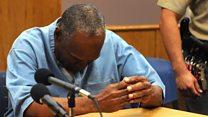 El alivio de O.J. Simpson al recibir la libertad condicional