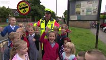 Lollipop man Jim saved by fundraisers