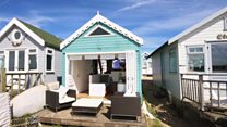 'Most expensive' beach hut up for sale