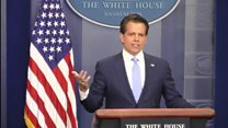 White House press chief apologises to Trump