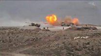 تهاجم حزب الله لبنان و ارتش سوریه به مخالفان مسلح سوری