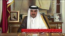 أمير قطر: حل الأزمة يجب أن يحترم السيادة