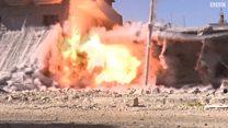 عمليات تطهير الموصل من المتفجرات
