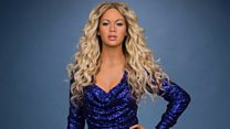 Beyonce waxworks over the years