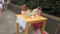 Lemonade stand girl, 5, inundated with business offers