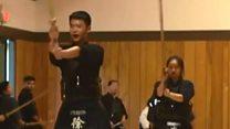 جاپانی مارشل آرٹ کیندو کی کینیڈا میں واپسی