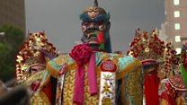 Taoists march through Taipei