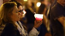 Poland candlelit protest draws thousands