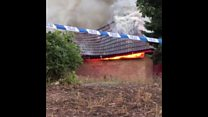 Dundee community centre destroyed by fire