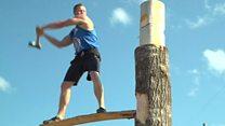 Lumberjacks take a swing at championships