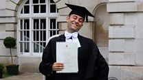 The blind Iraqi refugee with a first class Cambridge Law degree