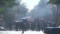 کشته شدن دست کم ۳۰ نفر در حمله انتحاری طالبان در غرب کابل