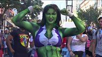 The amazing world of Comic-Con