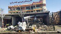 Кабулдагы шииттер районунда болгон жардыруу