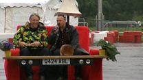 TV presenter creates wacky motorised inventions