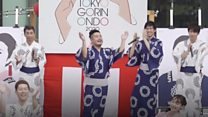 Tokyo Olympics get song and dance treatment