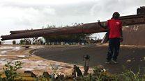 """Île de Gorée: l'artiste """"Sympa"""" habite dans un bunker"""