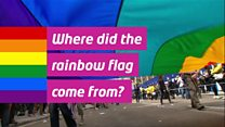 Where did the rainbow flag come from?