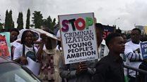 Matasan Nigeria sun koka