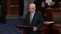 Senator McCain: To hell with loudmouths!